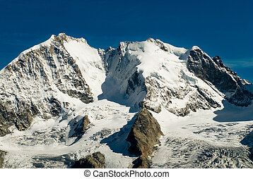 Piz Bernina, Engadin, Switzerland