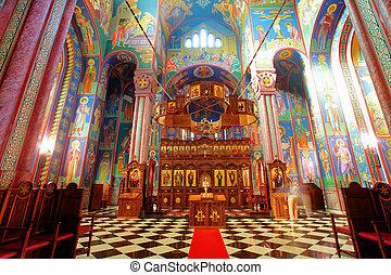 內部, 正統,  -, 教堂
