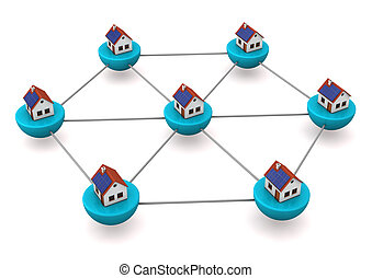 Network Of Houses