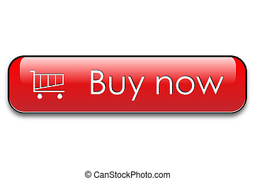 Buy now web button - Buy now red web button.