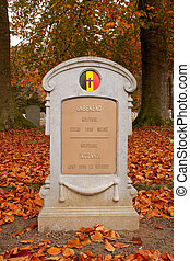 Belgian Military Cemetery Houthulst - Gravestone - The...