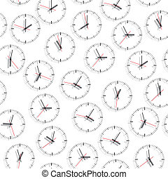 Wall clock. Seamless. - Wall clock. The electronic device....