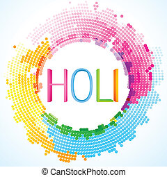 colorful holi festival - beautiful colorful holi festival...