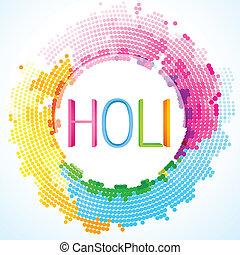 colorful holi festival - beautiful colorful holi festival...