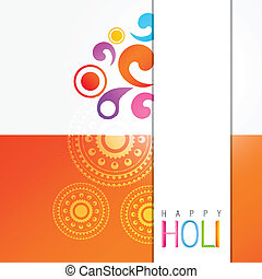 holi festival celebration - stylish colorful holi festival...
