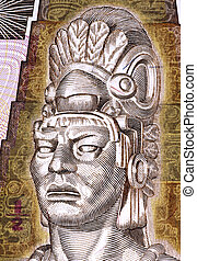 Tecun Uman (1500-1524) on Half Quetzal 1998 Banknote from...
