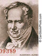 Alexander von Humboldt 1769-1859 on 5 Marks 1954 Banknote...