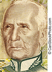 Candido Rondon (1865-1958) on 1000 Cruzeiros 1990 Banknote...