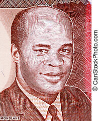 Eduardo Mondlane on 1000 Meticais 1991 Banknote from...