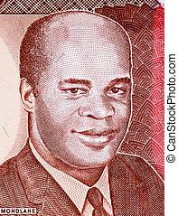 Eduardo Mondlane on 1000 Meticais 1991 Banknote from...