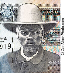 Hendrik Samuel Witbooi (1906-1978) on 10 Dollars 2001...