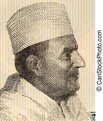 Mohammed V of Morocco (1909-1961) on 2 Sylis 1981 Banknote...