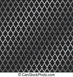 rhomb metal grill