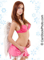 redhead angel