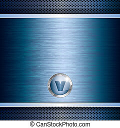 Blue abstract tech grid background