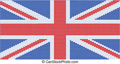 Union Jack - A cross stitch impresion of the United Kingdom...