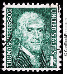 Thomas Jefferson the third President of the United States -...