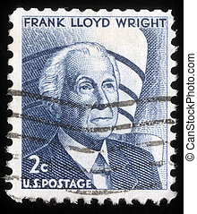 Frank Lloyd Wright, American architect - UNITED STATES OF...
