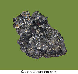 pyrrhotite, hierro, sulfide, mineral