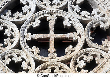 Rose Window, Church of Assumption of the Blessed Virgin Mary...