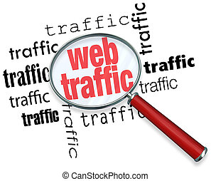 Finding Web Traffic - Analyzing with Magnifying Glass