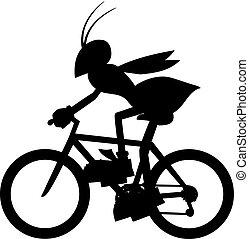 Shadow wasp - Creative design of shadow wasp