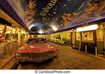 drive through wedding chapel - Las Vega December 22, 2012: a...