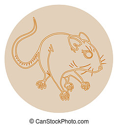 Mouse icon - Creative design of mouse icon