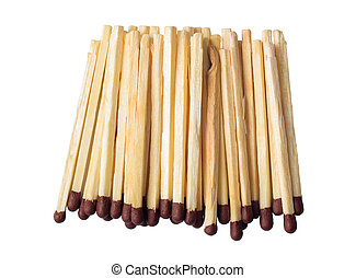 Matches in a pile