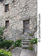 Old cottage - Old stone cottage in the historic town of...