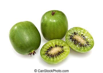 Kiwi Berry or Actinidia arguta - Kiwi berry (Actinidia...