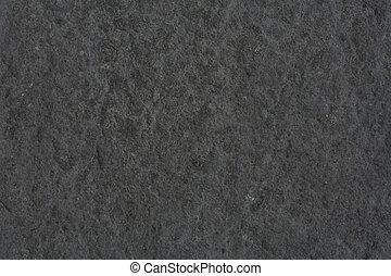 Gray stone background - Rough textured background in dark...
