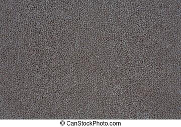 Dark gray carpet - Deatil of a dark gray carpet suitable for...