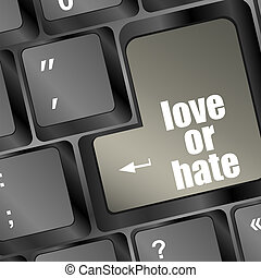 love or hate relationships communication impressions ratings...