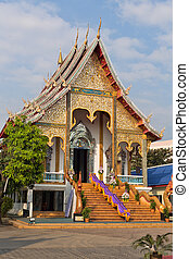 Entrance to a Thai temple