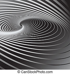 Swirl movement illusion - Abstract background with swirl...