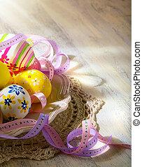 art Easter eggs