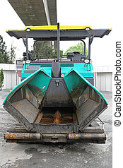 Paver finisher - Asphalt paver finisher machinery for...