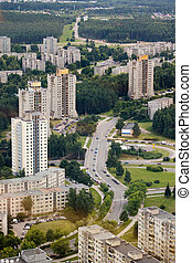 Housing estates in Vilnius - Housing estates in Lazdynai...