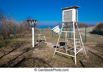Meteorological station - Old meteorological station in Vente...