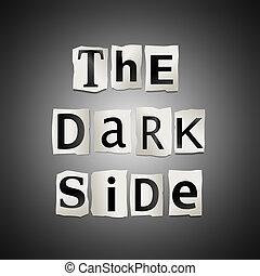 Dark Side Clip Art