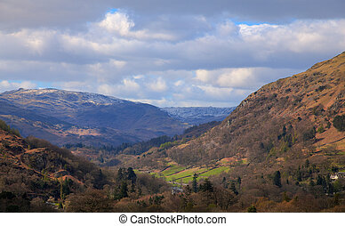 View from moutains above ambleside - View from a high walk...