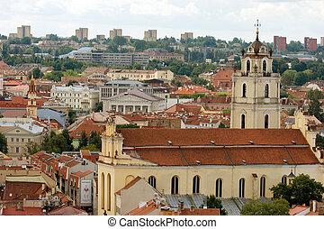 Vilnius cityscape, Lithuania