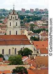 Vilnius cityscape