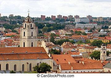 Cityscape,  Vilnius