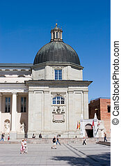 Chapel of Saint Casimir - Vilnius, Lithuania - August 20,...
