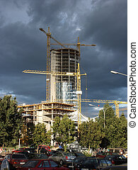 Europa Tower construction