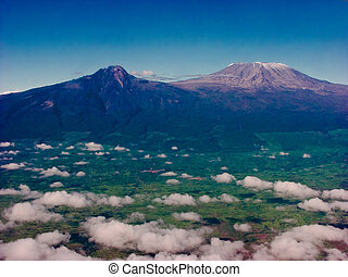 Mount Kilimanjaro in Africa is one of the tallest...