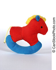 Happy childhood - swinging rattle