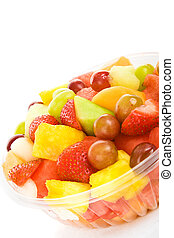 Tropical Fruit Salad - Delicious, colorful tropical fruit...